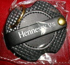 Hennessy V.S. Cognac Leather Key Fob / Earbud Holder, Genuine, FREE Shipping USA