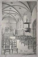 """CPA """" BRUGES - L'Intérieur de la Chapelle du Saint Sang"""