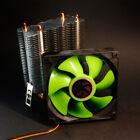 Dual Fan CPU Quiet Cooler Cooling Heatsink for Intel LGA775/1156/1155 AMD Green