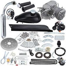 Neu 2-Takt 80CC Moteur Motorisierte MotorSET Fahrrad Benzin Hilfsmotor Motor Kit