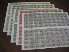 Space Decimal British Stamp Sheets