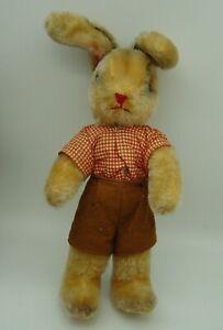 cute vintage Kersa? Schuco ? Mohair Rabbit Bunny Boy