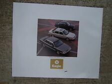 1989 Jeep Eagle Premier Color Promotional Book Photos Specs MORE IN OUR STORE U