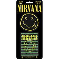 Nirvana Juego de Dos con Plancha / para Coser Tela Parches (Cv)