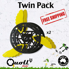 Trimmer Head Whipper Snipper Brushcutter String Cord Replacement Blade Twin Pack