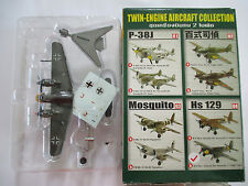 1/144 F-toys Twin-Engine Aircraft Collection 04B Hs Henschel 129B-2 First Ground