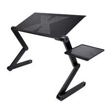 Adjustable 360°Plegable Ordenador Portátil PC Laptop Mesa Desk Table Stand Tray