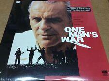 One Man's War Laserdisc LD Anthony Hopkins RARE - FACTORY SEALED BRAND NEW