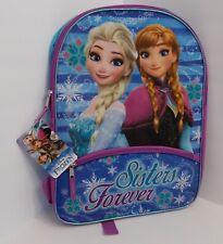 "WOW! Disney Frozen Kid's Backpack ""Best Friends"" Elsa & Anna"