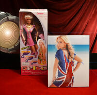 "Signed ""GERI"" Spice Girls AUTOGRAPH, Singing Doll MIB, Press Kit, COA, UACC"