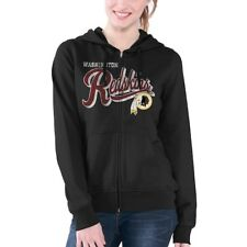 G-III 4her by Carl Banks Washington Redskins Women s Black Wildcat Full Zip 9cdeb80e9