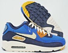 detailing dce9e 0c0b6 Nike Air Max 90 Premium Mens Running Shoes Royal Cream Size 9