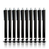 PENCILUPNOSE® 10 x BLACK QUALITY STYLUS PENS for IPAD ,TABLET ,IPHONE,SAMSUNG