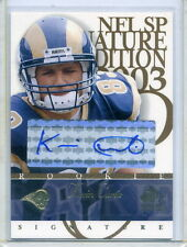 03 SP Signature Edition KEVIN CURTIS AUTO RC!