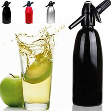 1000ML Aluminum Soda Syphon Siphon Maker Bar Home Brew Seltzer Make Tool