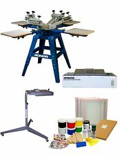 Screen Printing Starter Kit Home Business-DIY T-Shirt Printing-Package