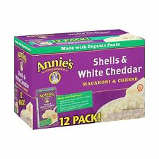 Annie's Macaroni and Cheese Shells & White Cheddar Mac and Chee... Free Shipping