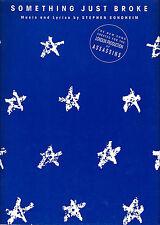 """Stephen Sondheim """"ASSASSINS"""" John Weidman / London Production 1993 Sheet Music"""