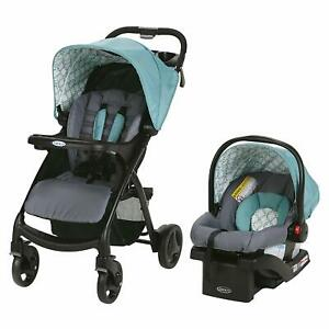 Graco Verb Click Connect Travel System - Merrick - New! Free Shipping!