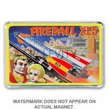 RETRO STEVE ZODIAC FIREBALL XL5 TIN LUNCH BOX ART JUMBO FRIDGE / LOCKER MAGNET