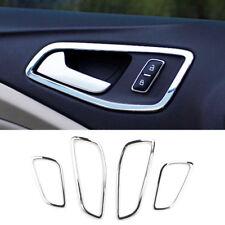Fit For Ford Escape Kuga 2013- Chrome Interior Door Handle Bowl Cover Trim Frame
