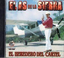 El As De La Sierra El Heredero Del Cartel CD New Sealed