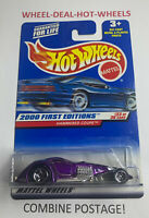 HOT WHEELS (2000) FIRST EDITIONS HAMMERED COUPE RARE COLLECTABLE NO.093 HTF MOC!
