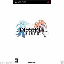 Used PSP BANDAI Dissidia Final Fantasy SONY PLAYSTATION JAPAN IMPORT