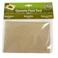 *was 4.99 3pk Concrete Slabs - Kids Globe Pack 3 18cm x 12cm Farm Model Kits
