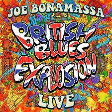 JOE BONAMASSA - BRITISH BLUES EXPLOSION LIVE   3 VINYL LP + MP3 NEUF