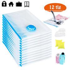 12tlg Vakuum Beutel 80x60 cm Aufbewahrungsbeutel Tasche Vacuumbeutel Platzsparer