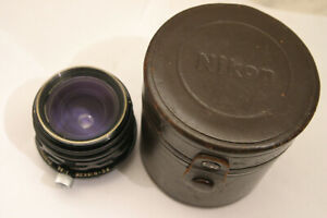 Nikon 35mm F3.5 PC Nikkor Shift lens