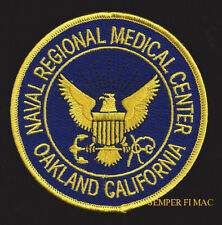 OAKLAND US NAVAL REGIONAL MEDICAL PATCH PIN UP US NAVY CORPSMAN DOCTOR DOC NURSE