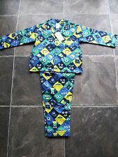 BNWT Boy's Monsters Flannelette Winter Pyjamas Size 2