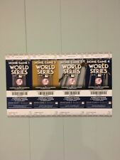 2017 New York Yankees Phantom World Series Tickets