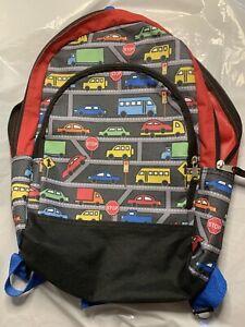 Kids Backpack Used Traffic/Behicle Theme
