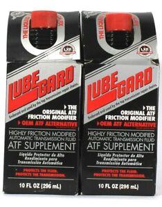 2 Count Lube Gard 10 Oz 61910 Original ATF Supplement Friction Modifier Fluid