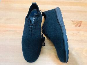 Cole Haan Original Grand Stitchlite wingtip oxford wool shoes C30698 NWOB sz 8.5