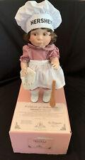 1996 Original Lee Middleton Hand Signed Baby Doll Hershey'S Baker Girl 14� #57