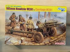 1/35 Dragon 105mm Howitzer M2A1 w/Carriage & Crewmen #6499