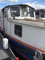 Motorboot Spinner 17 x 3 Meter Werft Jean Stauf, Königswinter