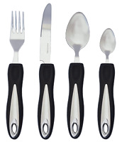 Easy Grip Cutlery Set Arthritis Elderly Disability Eating Aids Comfort Handle UK