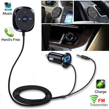 Bluetooth 4.0 Car FM Transmitter Magnetic Kit USB Charger MP3 Player Handsfree