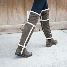 Frye Tamara Shearling OTK Boots Size 9 BRAND NEW