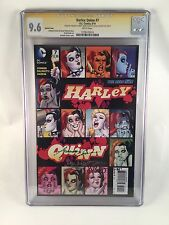 Harley Quinn #7 1:25 Variant Cover 9.6 CGC SS Signed Autographed Suicide Squad