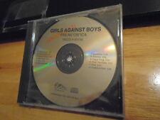 SEALED RARE ADV PROMO Girls Against Boys CD Freak*On*Ica NEW WET KOJAK Soulside