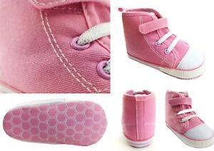 Mädchen Schuhe Größe 20 - 21 Baby Krabbelschuhe Lauflernschuhe Sneaker