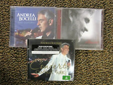 ANDREA BOCELLI - 3 ASSORTED CD'S - SEALED