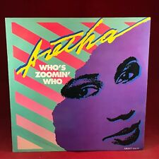 "ARETHA FRANKLIN Who's Zoomin' Who 1985 UK 12"" Vinyl Single EXCELLENT CONDITION A"