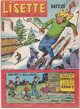 LISETTE N°5 du 4 février 1962 DANSLER FOREST LACROIX FUSCO